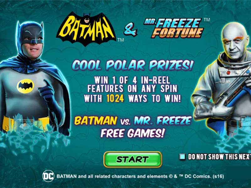 Play Batman and Mr. Freeze Fortune at Casino.com NZ