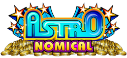 Astronomical slot logo