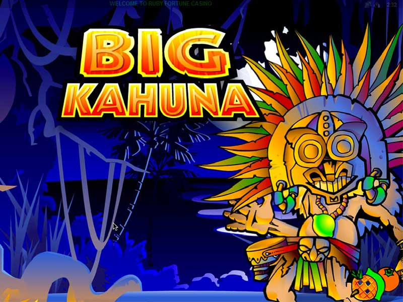 The big kahuna slot game partouche poker tour 2016