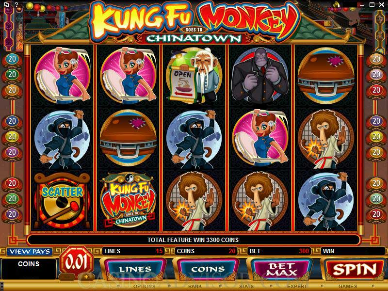 Kung Fu Monkey Game