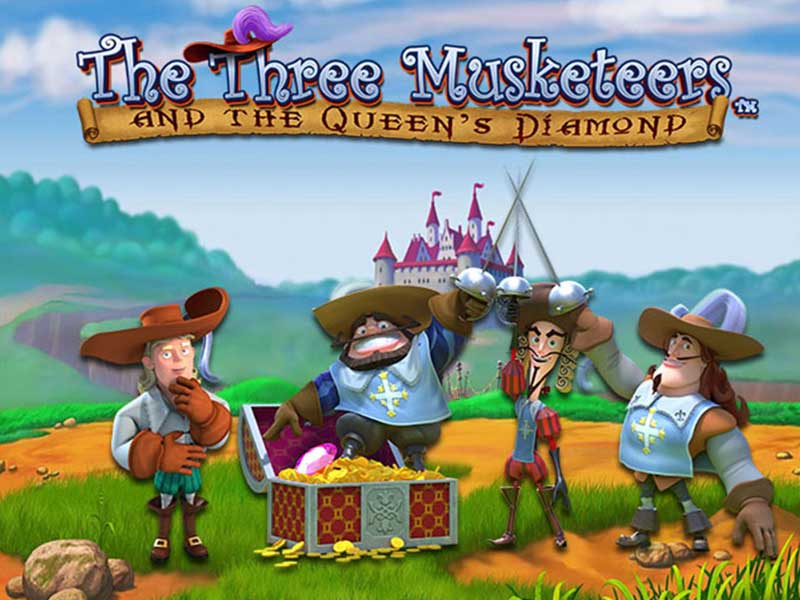 Play Slot The Three Musketeers And The Queens Diamond By Playtech