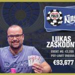 Lukas Zaskodny Wins 2017 WSOP Europe €2,200 Pot-Limit Omaha