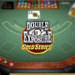 double exposure gold blackjack
