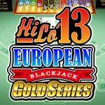 HiLo 13 European Blackjack Gold