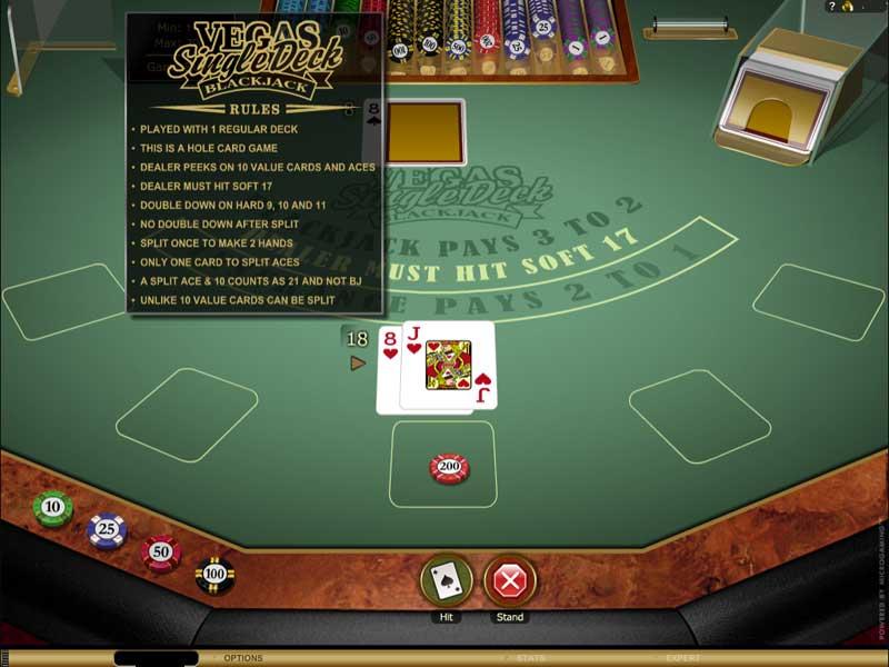 Gold blackjack