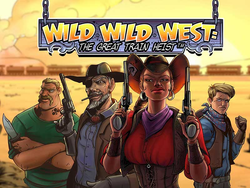Play the Wild Wild West: The Great Train Heist slot