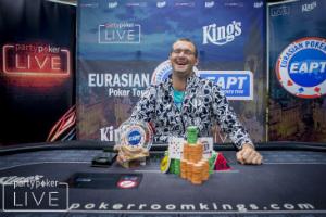 Andrey Novak Wins partypoker Eurasian Poker Tour Prague €5,300 High Roller Eight-Max