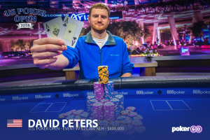 David Peters Beats Stephen Chidwick to Win US Poker Open $25,000 High Roller Event