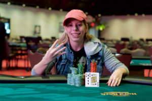 Loni Harwood Captures Fourth WSOP Circuit Gold Ring, Wins $365 Event at Seminole Casino Coconut Creek
