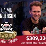 Calvin Anderson Wins Second Gold Bracelet in 2018 WSOP Razz Championship