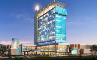 Potawatomi Hotel & Casino Tops Off $80-Million Hotel Expansion