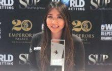 Poker Celeb Maria Ho Wins WPTDeepStacks Johannesburg