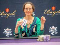 Nancy Matson Claims First Gold Ring at WSOP Circuit Bicycle Casino