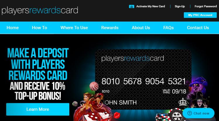Players Reward Card Casinos