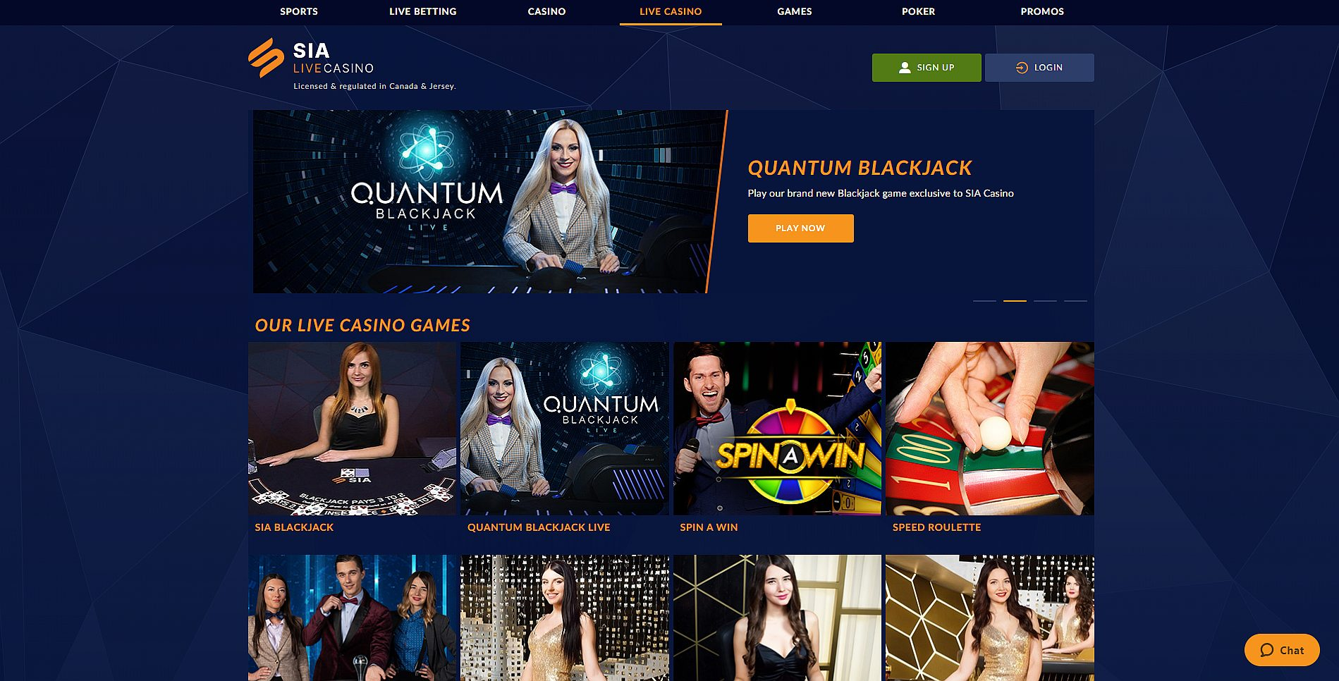 Top Live Casino Websites