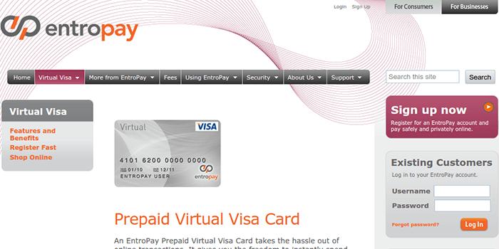 Visa Entropay