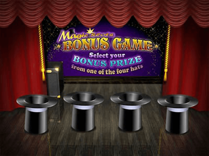 Magic Slots Progressive Jackpot Bonus Game