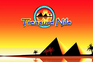 Logo of Treasure Nile Progressive Jackpot