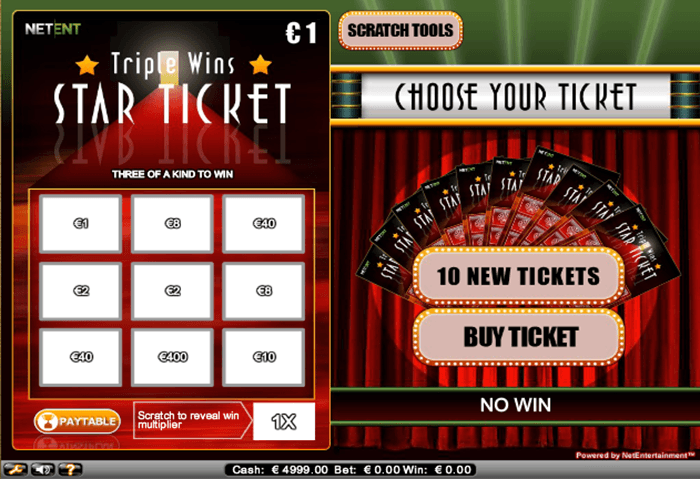 Triple Wins Progressive Jackpot Screen
