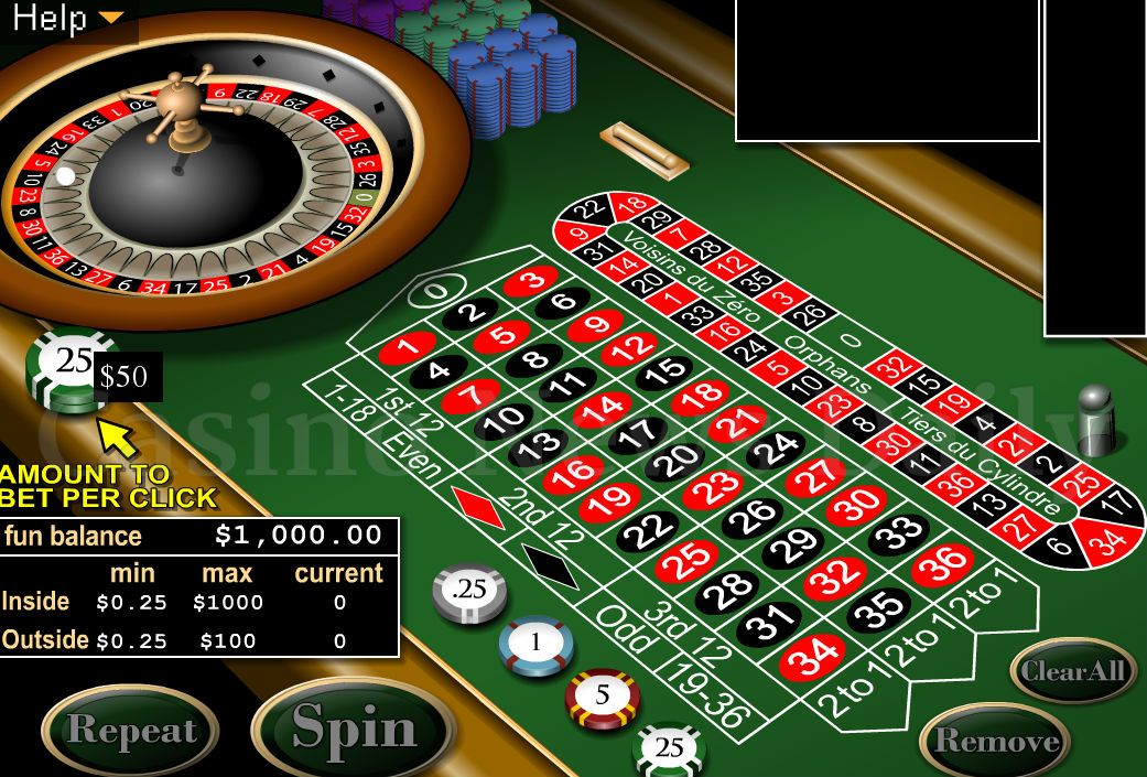 Best online casino play roulette free