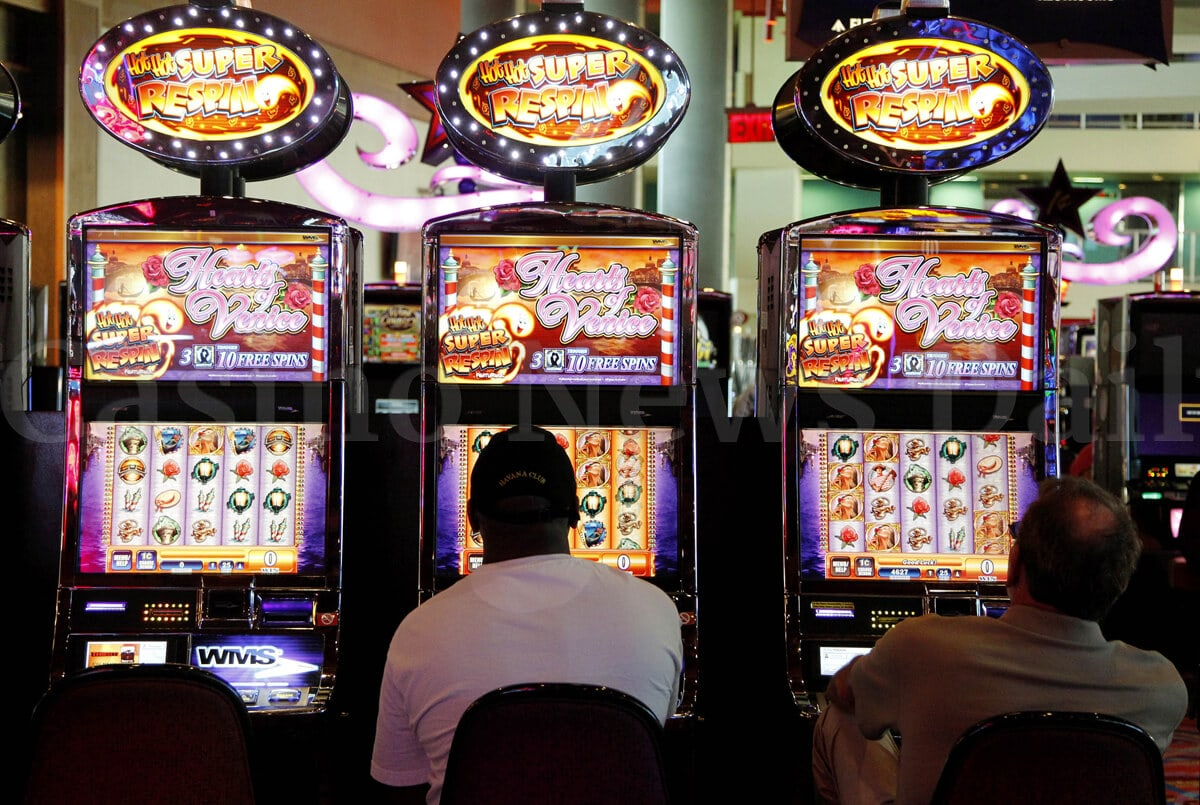What does progressive slot machine mean