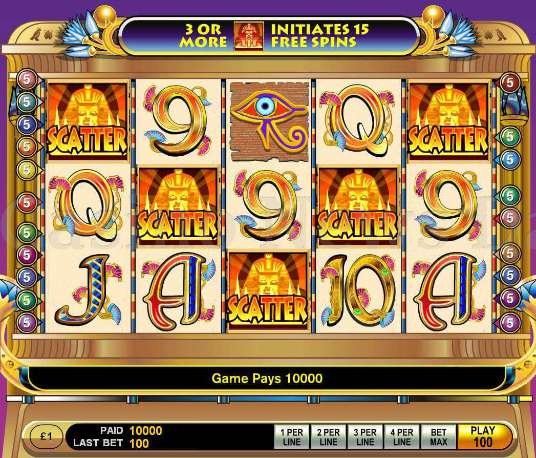 Video Slots Online Gratis