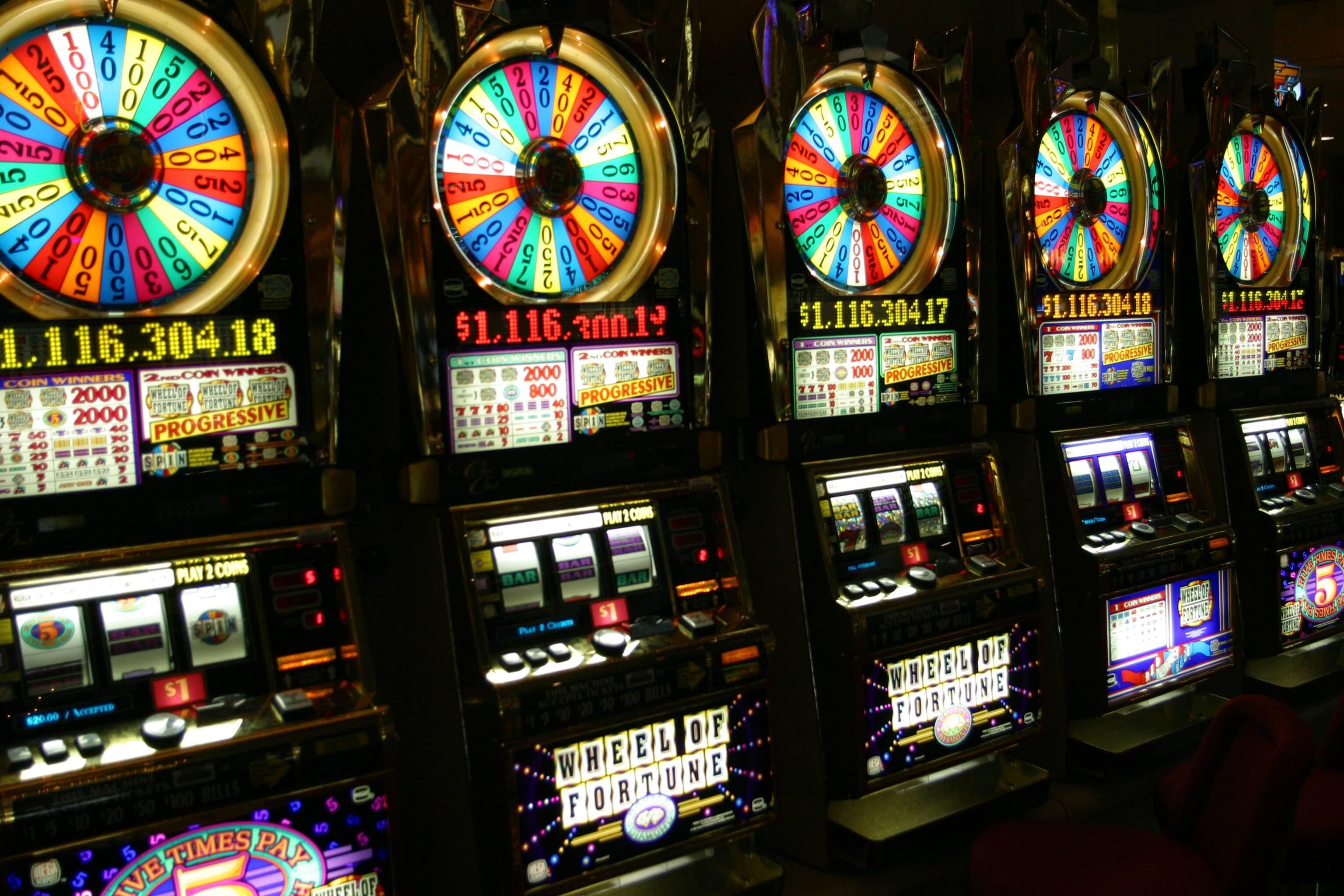 Скриншот игровых автоматов с прогрессивным джекпотом