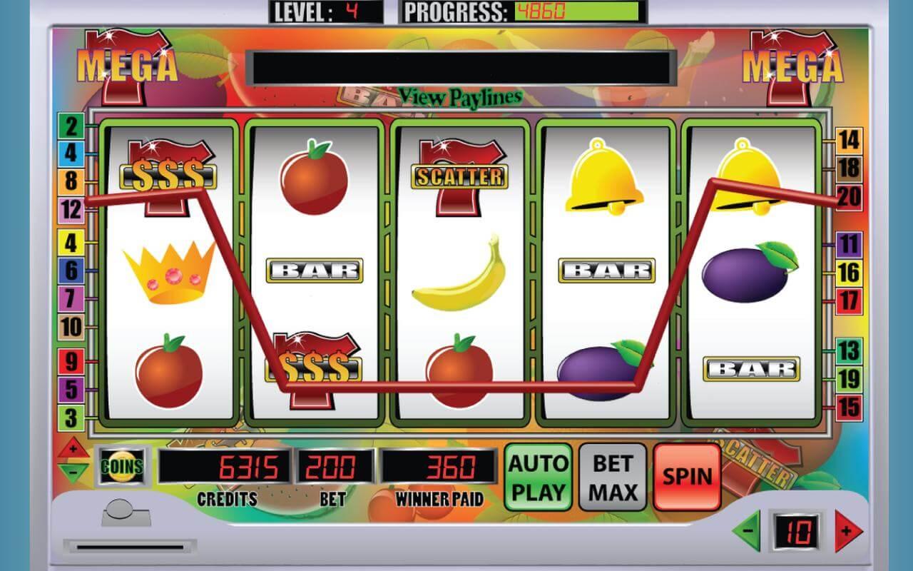 Скриншот слот-игры Mega 7