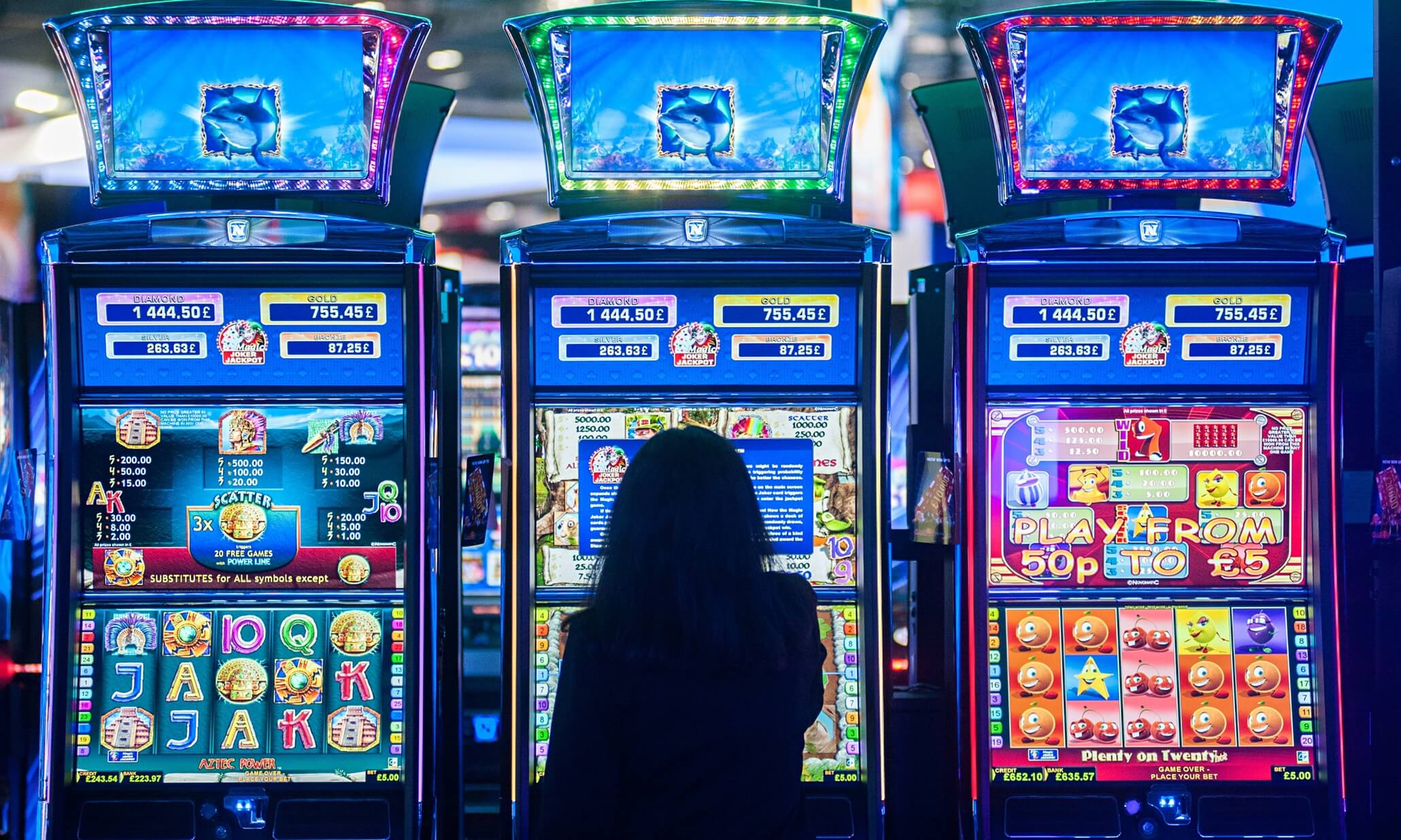 how to play slot machine in casino
