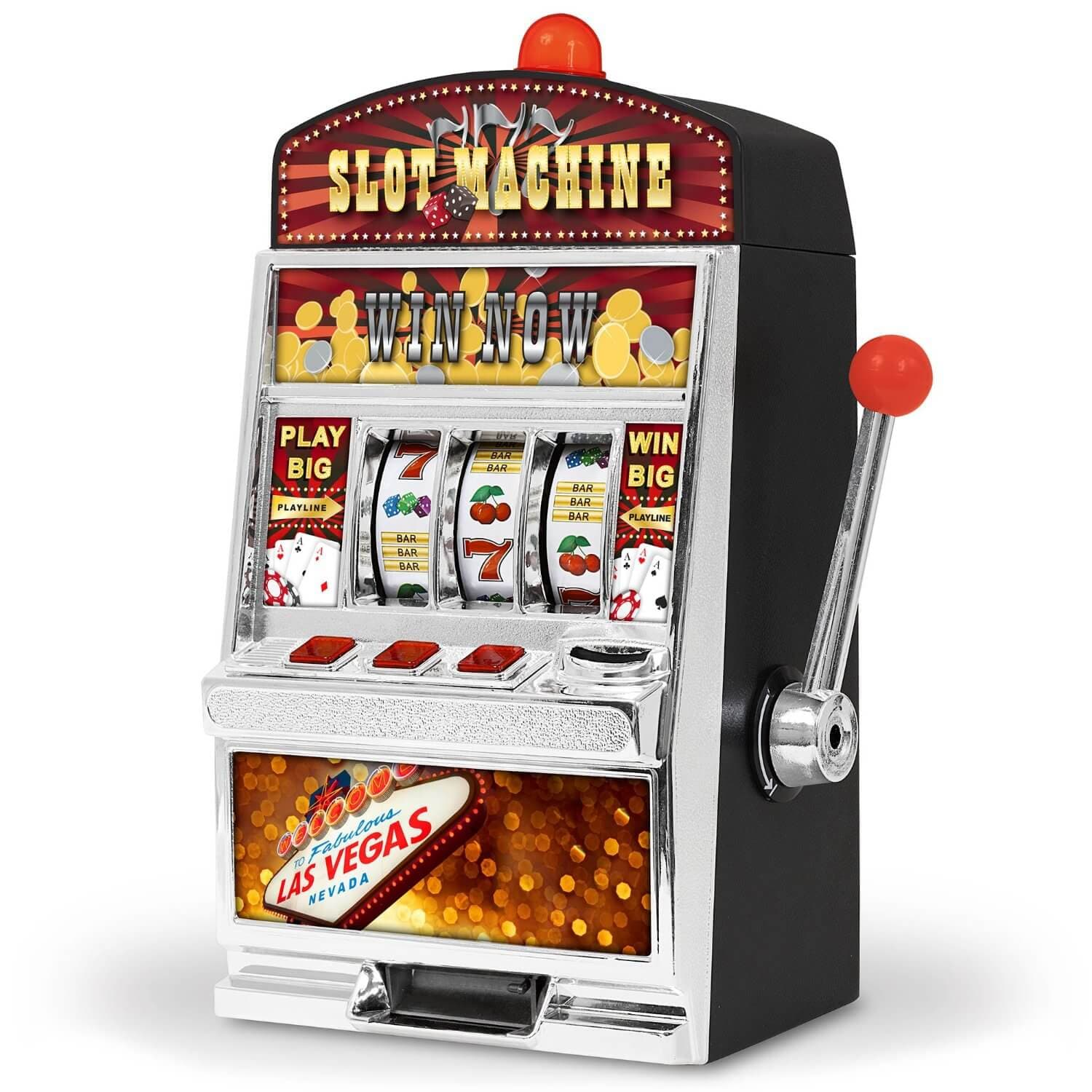 slot machine at casino