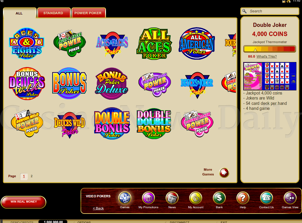 online casino video poker raonline