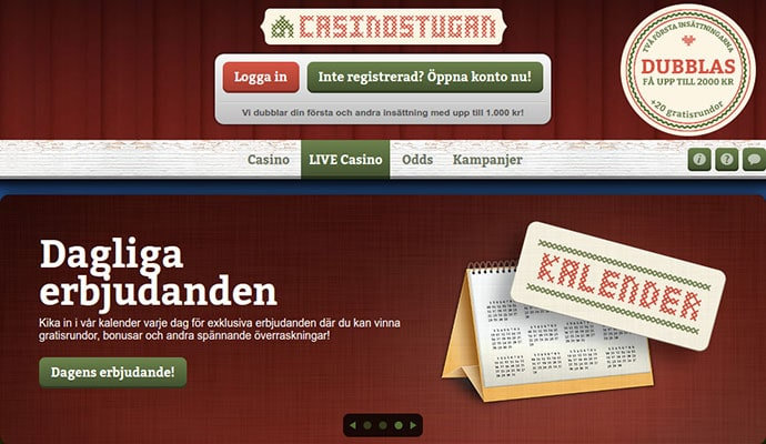 CasinoStugan Review