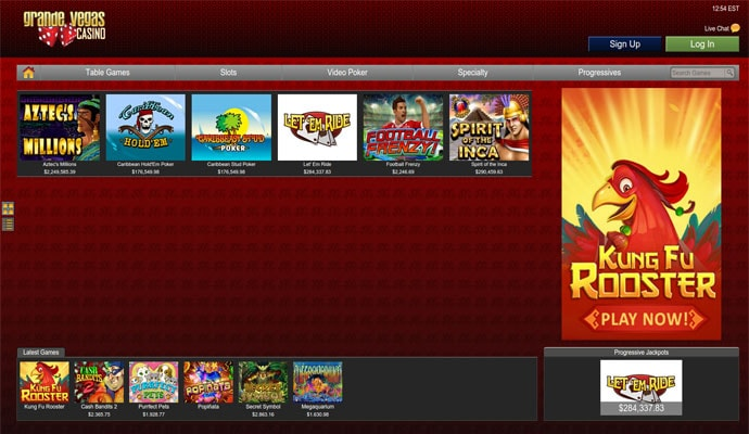 grande vegas online casino review
