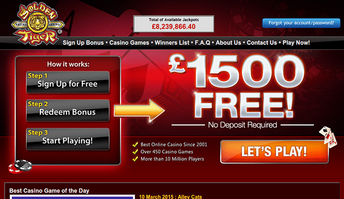 bestes online casino golden tiger