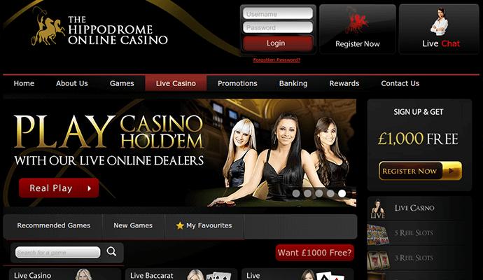 Hippodrome casino online review