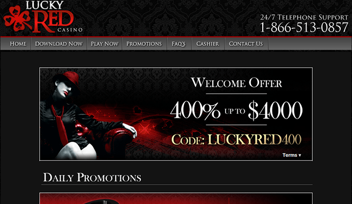 Lucky red casino