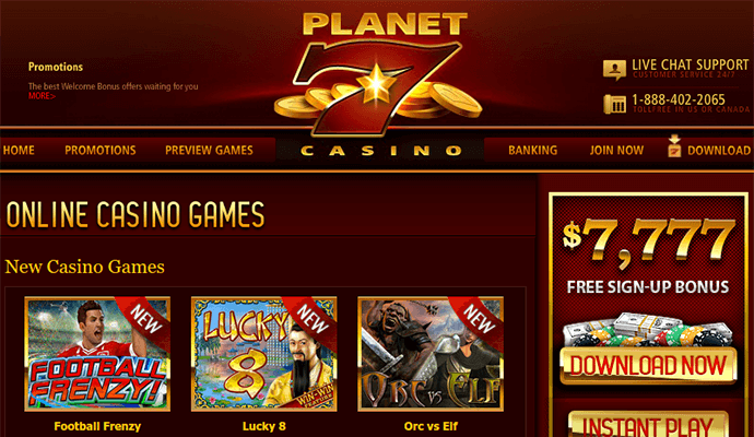 Planet 7 Casino Review – Are They to be Avoided?