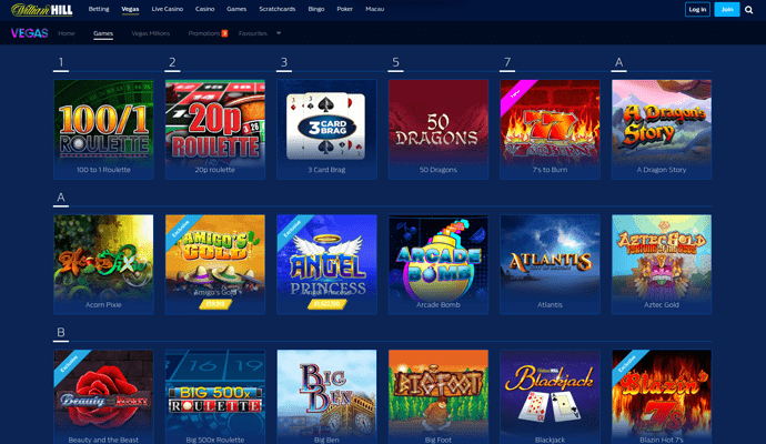 online casino william hill payment methods
